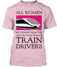 TRAIN T-SHIRT ALL WOMEN PINK