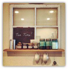 Tea/coffee station! Cute idea!! @Andrea / FICTILIS / FICTILIS / FICTILIS Steven Golisch