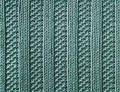 Moss Stitch Ribs