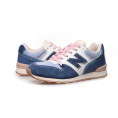 New Balance WR996AL Blue white pink women shoes