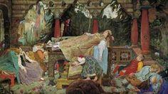 A bela adormecida, dos Irmãos Grimm