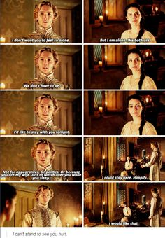 Reign 2x12 #Frary How could mlwe liv without Francis?