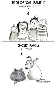 Oh, you've met my family? Family – Red and Howling I Love Dogs, Puppy Love, Cute Dogs, Animals And Pets, Funny Animals, Cute Animals, Dog Quotes, Animal Quotes, Crazy Cat Lady