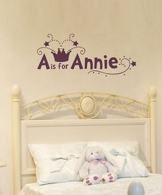 For Kid's Rooms: names & designs