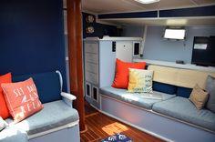 Sailing Blog   Sailboat Painting   Sailboat remodel   Travel Graham   Sailing Aqueous Miracle   Irwin 41