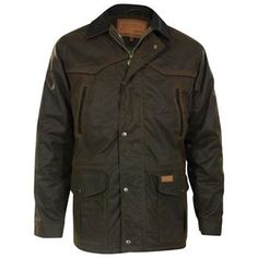 Outback Unisex Waterproof Oilskin Pathfinder Jacket