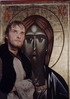 """Anatoly Solonitsyn in """"Andrei Rublev"""""""