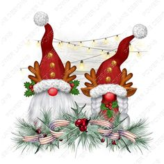 Merry Christmas, Christmas Gnome, Christmas Is Coming, Christmas Things, Country Christmas, Christmas Drawing, Christmas Paintings, Download Digital, Christian Cards