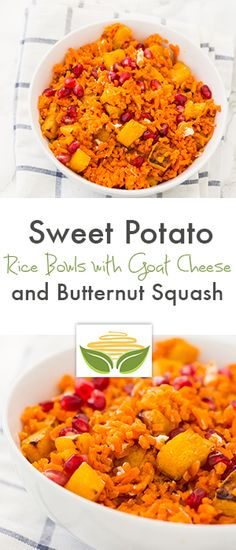 ... Rice Bowls with Roasted Maple Butternut Squash and Goat Cheese Recipe