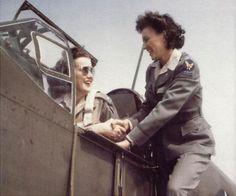 WAF Ferry Pilots Florene Watson and Barbara London
