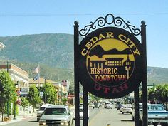 Cedar City, UT. This cute little town were I meet James parents... and glad we were several states away from them!