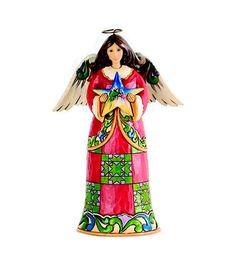 #Jim #Shore #Angel with #Nativity Star #Figurine