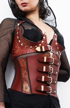 beautiful leatherwork
