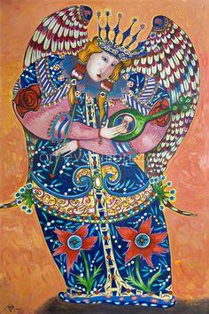 Carmel Angel by Toller Cranston