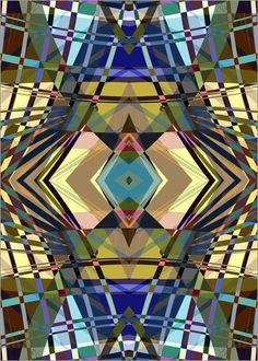 Pia Schneider atelier COLOUR-VISION - SWEEPING LINE PATTERN II A4 #kunst vektorkunst #art #geometric #kunstdrucke #artprints #piaschneider #ateliercolourvision #posterlounge