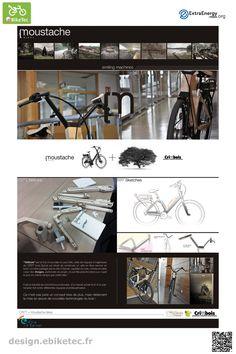eBikeTec design contest public voting project: Vélibois name: Moustache Moustache, Scooter Design, Electric Scooter, Public, Design Inspiration, Bike, Image, Clothes, Style