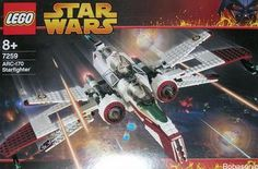 Set # 7259-1: ARC-170 Starfighter