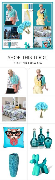 """""""casasilk #9"""" by minela-d ❤ liked on Polyvore featuring Seed Design, Moe's, Imm Living and casasilk"""
