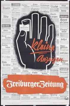Freiburger Zeitung - 1930's - (Albert Rose) -