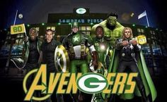 Green Bay Packers = Avengers