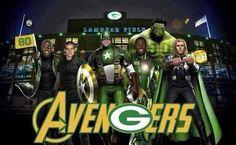 Green Bay Packers = Avengers