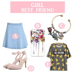 GIRL BEST FRIEND www.theteeliebog.com  She knows everything about you. She's your shopping partner, your shoulder to lean on, your sister and your best friend. #TeelieBlog