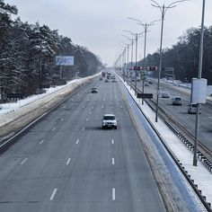 The highway from Boryspil airport to Kyiv in a wintertime #kyiv #tour #trip #travelgram #instatravel #instatrip #tripadvisor #travel #traveling #highway #boryspil #voyage #resa #reisen #giro #viajar #viajes #viaggio #transfer #여행사진 #여행중 #여행 #우크라이나 #road #ウクライナ #ツアー #旅行