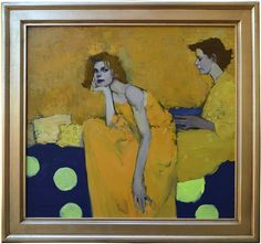 Milt Kobayashi - Contemporary Artist - Figurative Painting - Golden