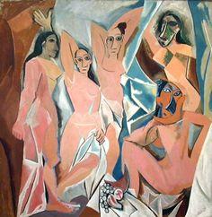 """Les Demoiselles de Avignon"", 1907,  MoMA"
