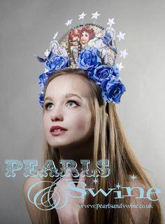 "Image of ""Stella Maris"" Virgin Mary Headdress Catholic Icon Halo Couture High Fashion Avant Garde Eccentric"