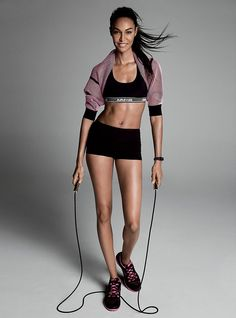 Fitness Tips: Adriana Lima, Joan Smalls, and More - Vogue
