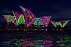 Vivid Sydney 2013 Light Show at the Opera House