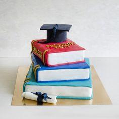 Un moment atat de important precum absolvirea liceului merita marcat cu ajutorul unui tort pe masura. Cake, Desserts, Food, Tailgate Desserts, Deserts, Kuchen, Essen, Postres, Meals