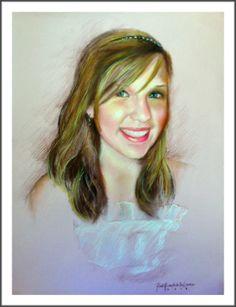 """Princess"" 2010  Watercolor Art by: PinkyFlizares"