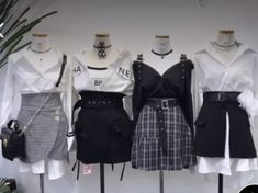Kpop Fashion Outfits, Stage Outfits, Korean Outfits, Mode Outfits, Girly Outfits, Cute Casual Outfits, Pretty Outfits, Stylish Outfits, Kawaii Fashion