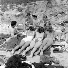 Balboa Beach, California, 1947, Photo by Peter Stackpole