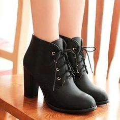 Buy 'Pangmama – Lace-Up Ankle Boots' with Free International Shipping at YesStyle.com. Browse and shop for thousands of Asian fashion items from China and more!