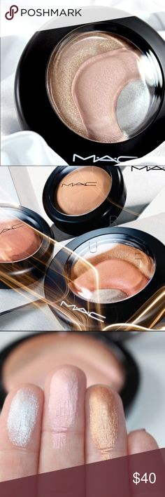 """MAC LIMITED EDITION HIGHLIGHTER """"OTHEREARTHLY"""" MAC limited edition highlighter in color OTHEREARTHLY. MAC Cosmetics Makeup Luminizer"""