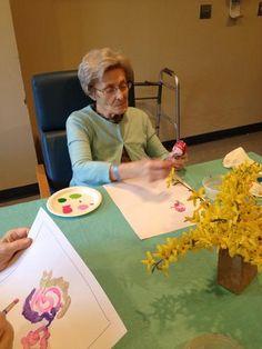 """A Fresh Canvas: An Alzheimer's Arts Program"" At Hebrew Health Care"