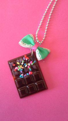 catenina dolce cioccolato di nonsolocandykawaii su Etsy