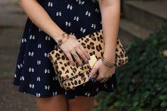Living After Midnite: Leopard & Bows by jackiegiardina, via Flickr