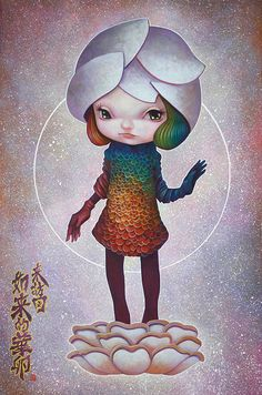 """Yosuke Ueno.  Yosuke will be part of Thinkspace Art Gallery's group show, """"Synergy,"""" which opens tomorrow, Thursday May 3rd at Spoke Art in San Francisco, California."""