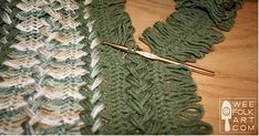 Hairpin Lace can be used to create beautiful items. Find out all you need to know and get started making hairpin lace today. Crochet Afghans, Shawl Crochet, Crochet Diy, Crochet Motif, Crochet Crafts, Crochet Stitches, Crochet Patterns, Crochet Edgings, Blanket Crochet