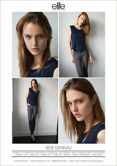 ELITE MODEL MANAGEMENT BARCELONA: New polaroids... Lieve Dannau, Marilhea Peillard and Pauline Hoarau!