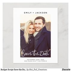 Wedding Invitations With Pictures, Photo Invitations, Beautiful Wedding Invitations, Save The Date Invitations, Wedding Photos, Save The Date Photos, Save The Date Cards, Typography Save The Dates, Modern Wedding Save The Dates
