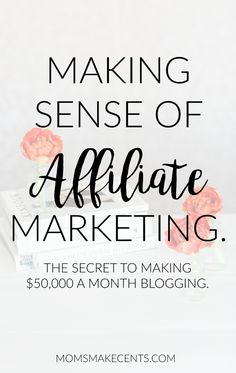 Want to know the secret to make $50,000 a month blogging? Ready to make passive income from your blog? Check out this exclusive interview with the Queen of Affiliate Marketing, Michelle of Making Sense of Cents. Find out about how she started a blog, why she chose affiliate marketing and making sense of affiliate marketing. #affiliatemarketing #makingsenseofcents #makemoneyblogging #bloggingtips