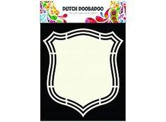Dutch Doobadoo Holländische Kunst-Form-Schild 2 A5