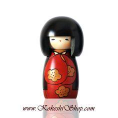 Kojitsu - Kokeshi doll - available on www.kokeshishop.com