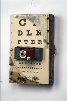 Beka Brayer-Assemblagist Found Object Art, Found Art, Altered Book Art, Assemblage Art, Small Art, Time Capsule, Art Challenge, Letter Art, Box Art
