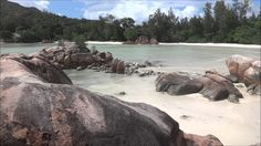 Rocks on Anse Cote D'Or, Praslin Seychelles